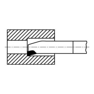 Wilke Inneneckdrehmeißel DIN 4974 ISO9 HM P25/30 rechts