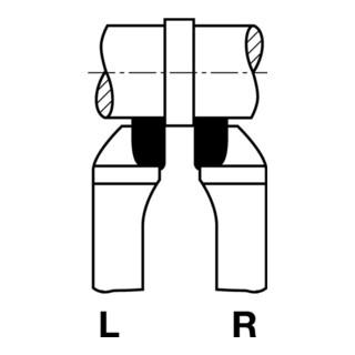 Wilke Seitendrehmeißel DIN 4980 ISO6 HM P25/P30 rechts