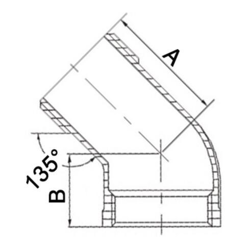 Winkel EN 10226-1 NPS 1/4 Zoll Innen-/Außengwinde SPRINGER