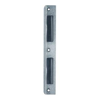 Winkel-Schließblech Alu. silber B.20 Schenkelbreite 8mm DIN L/R