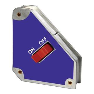 Winkelfixiergerät schaltbar magn.31-36kg 45,90Grad