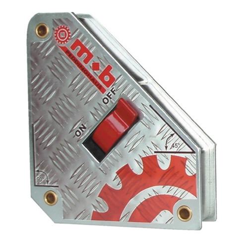 Winkelfixiergerät schaltbarer Magnet 31-36kg 45,90Grad MOB