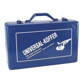 Winkelschleiferkoffer 390x240x112mm blau f.D.115/125mm Stahlblech