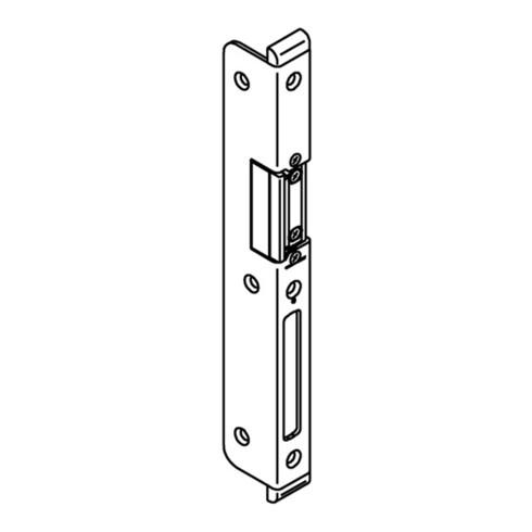 Winkelschließbl.Secury STA verz.B.20xL.227mm rd.Schenkelbreite 6x33mm DIN R