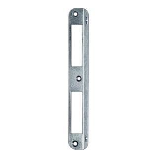 Winkelschließbl.STA silber Winkel B.20xL.190mm rd.Schenkelbreite 20mm DIN L/R
