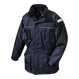 Winterparka AALBORG Gr.XL marine/schwarz 100% PES 1 St.BIG