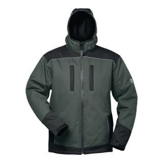Wintersoftshelljacke Ajax Gr. L grau/schwarz 100% PES 1 St. Feldtmann