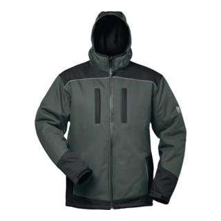 Wintersoftshelljacke Ajax Gr. M grau/schwarz 100% PES 1 St. Feldtmann
