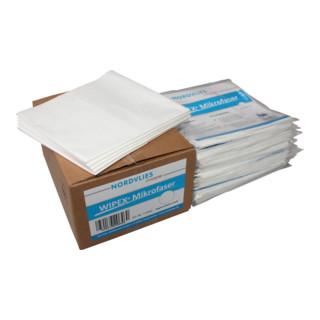 Wipex Mikrofaser Tücher weiß z-gefaltet 10x5 Stk. 40x38 cm