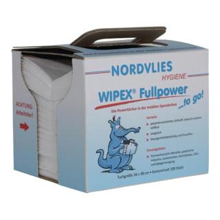 Wipex Wischtuch Fullpower Z-Faltung weiß