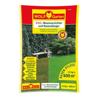 Wolf-Garten Moosvernichter und Rasendünger LW 400