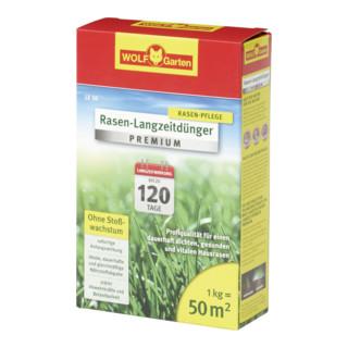 WOLF-Garten Rasen-Langzeitdünger Premium LE 50 1kg