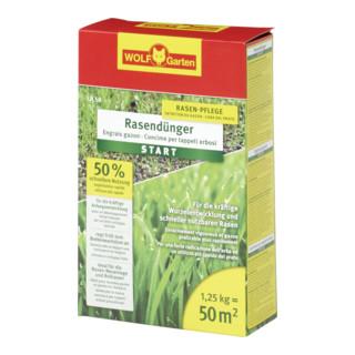 WOLF-Garten Rasen-Starter-Dünger 50 qm LH 50 1,25kg