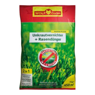 Wolf-Garten Unkrautvernichter plus Rasendünger ...