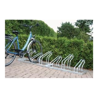 WSM FahrradBügelparker mit 10 Radständen 90 Grad feuerverzinkt zerlegt
