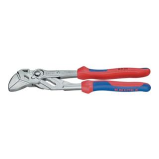 Zangenschlüssel DIN ISO 5743 L.150mm Spann-W.27mm vernickelt m.2K-Hüllen Knipex