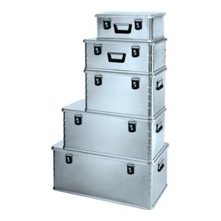 Zarges Aluminiumbox MiniPlus60l 600x400x330mm m.Dichtung Federfallgriff