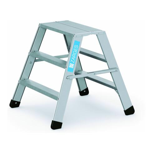 ZARGES Arbeitspodest klappbar 2x3 Stufen
