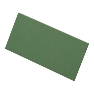 Zellgummibelag grün für Ausfugbrett L.300 mm B.120 mm S.8 mm