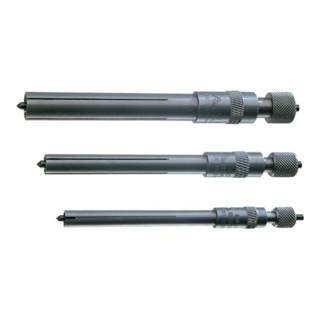 Zentrierkörnerset 3tlg. f.D.6-8/8-11/ 11-16mm RENNSTEIG verstellb.
