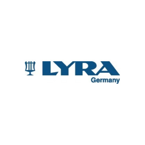 Zimmermannsbleistift L.18cm oval rot pol. LYRA Profi-Qualität